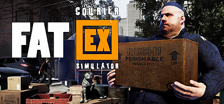 Fat EX Courier Simulator PC Game Free Download