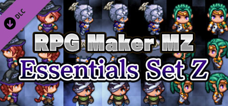RPG Maker MZ Essentials Set Z PC Game Free Download