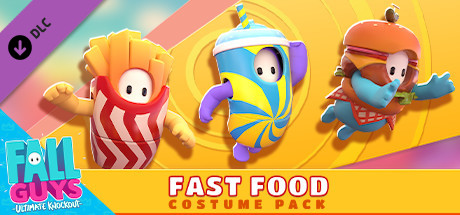 Fall Guys Fast Food Costume Pack PC Game Free Download