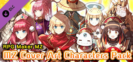 RPG Maker MZ MZ Cover Art Characters Pack Free Download