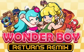 Wonder Boy Returns Remix PC Game Free Download
