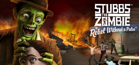 Stubbs the Zombie in Rebel Without a Pulse PC Game Free Download